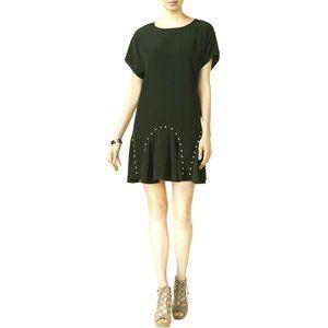 Bar III - Women's Studded Mini Flounce Dress - NWT